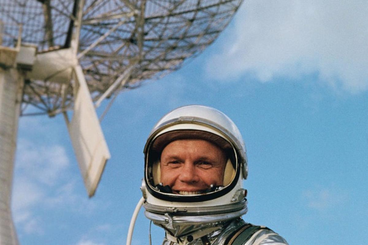 John Glenn was the first American to orbit the Earth