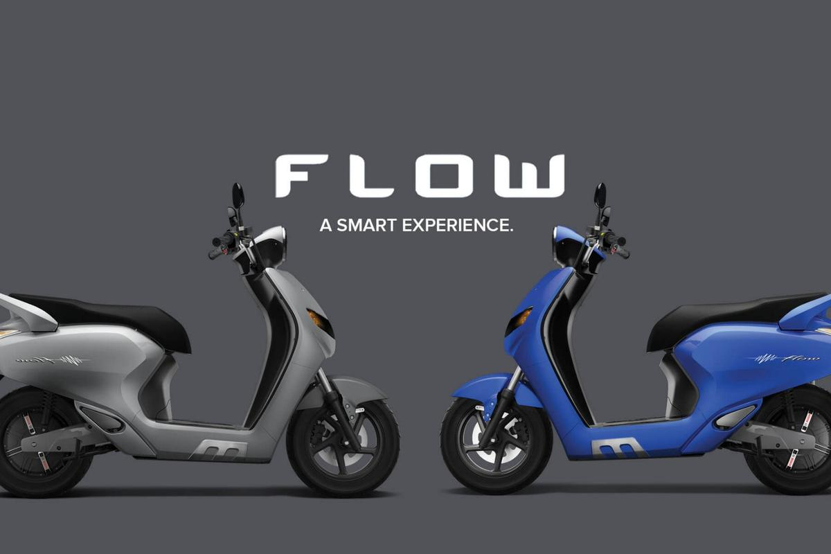 22Motors' Flow electric scooter brings artificial application to its rider's service