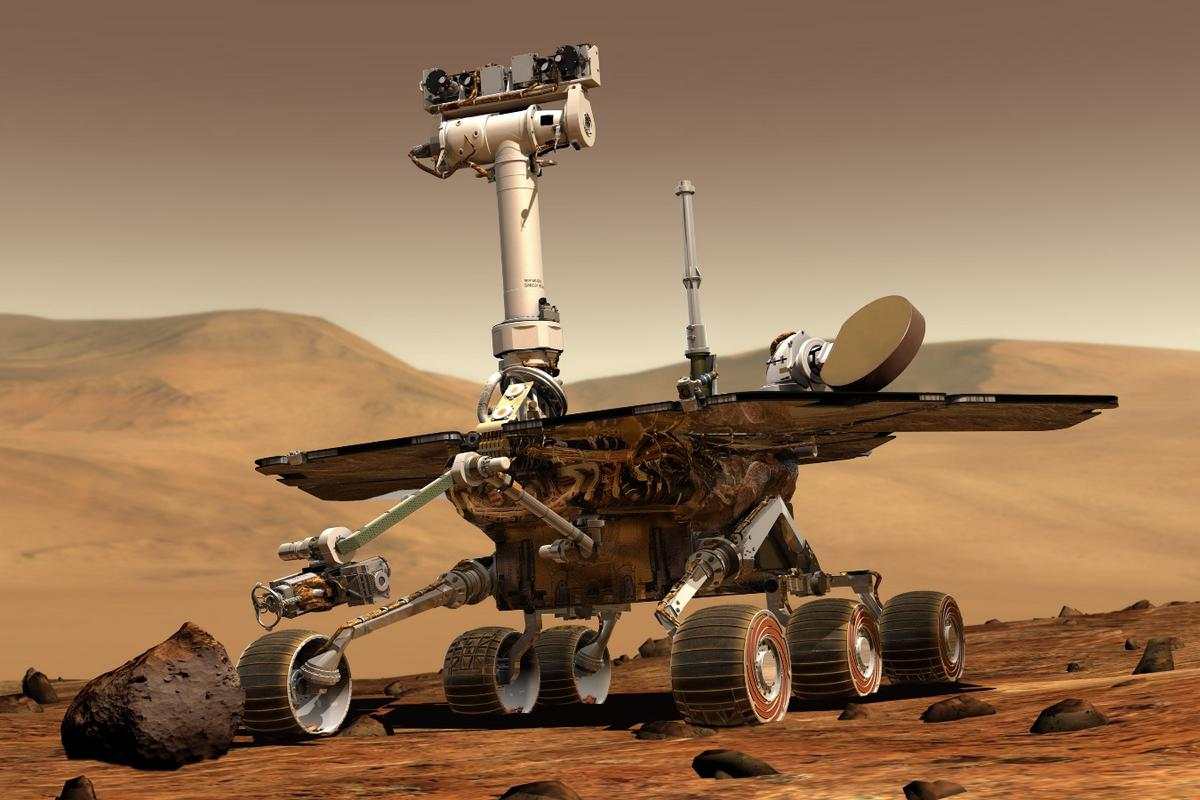 The Opportunity rover has spent 5,000 Martian days on the Red Planet