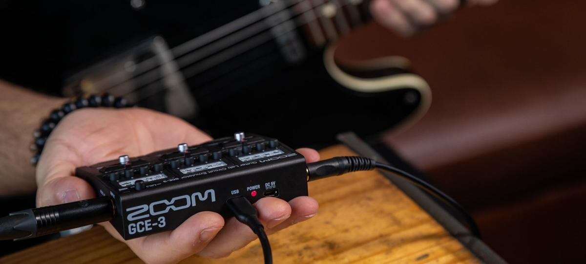 Pocket-friendly tone monster from Zoom named the GCE-3 Guitar Lab Circuit Emulator