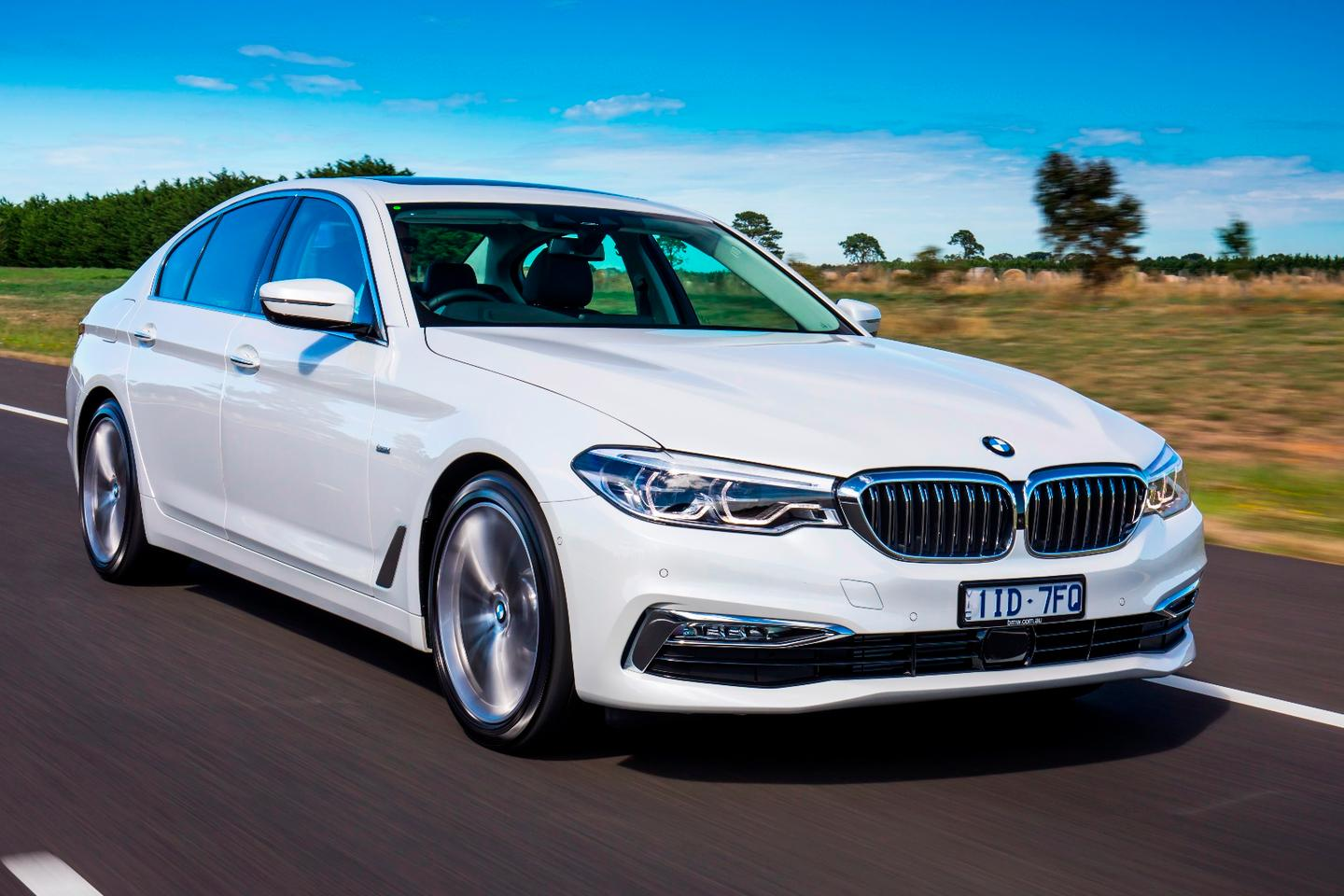 The BMW 5 Series 520 d offers silky smooth driving