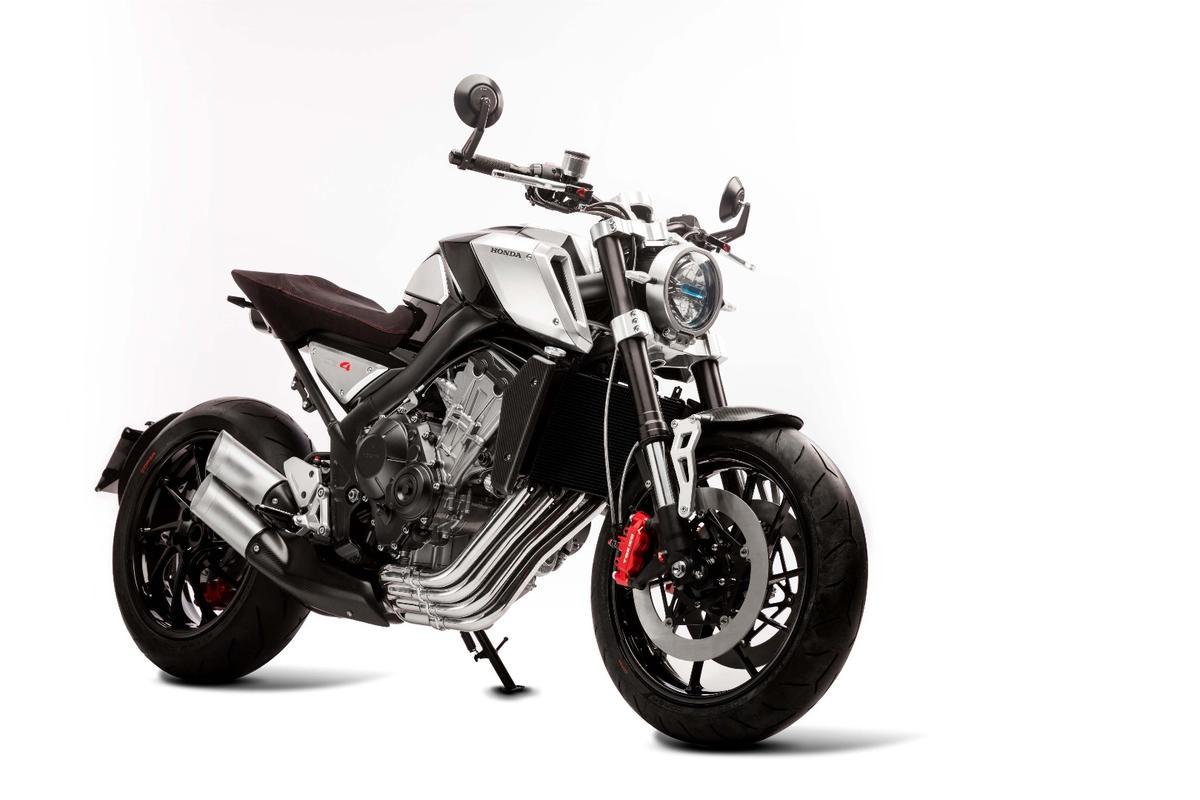 Honda CB4 concept: a dash of retro-futurist class