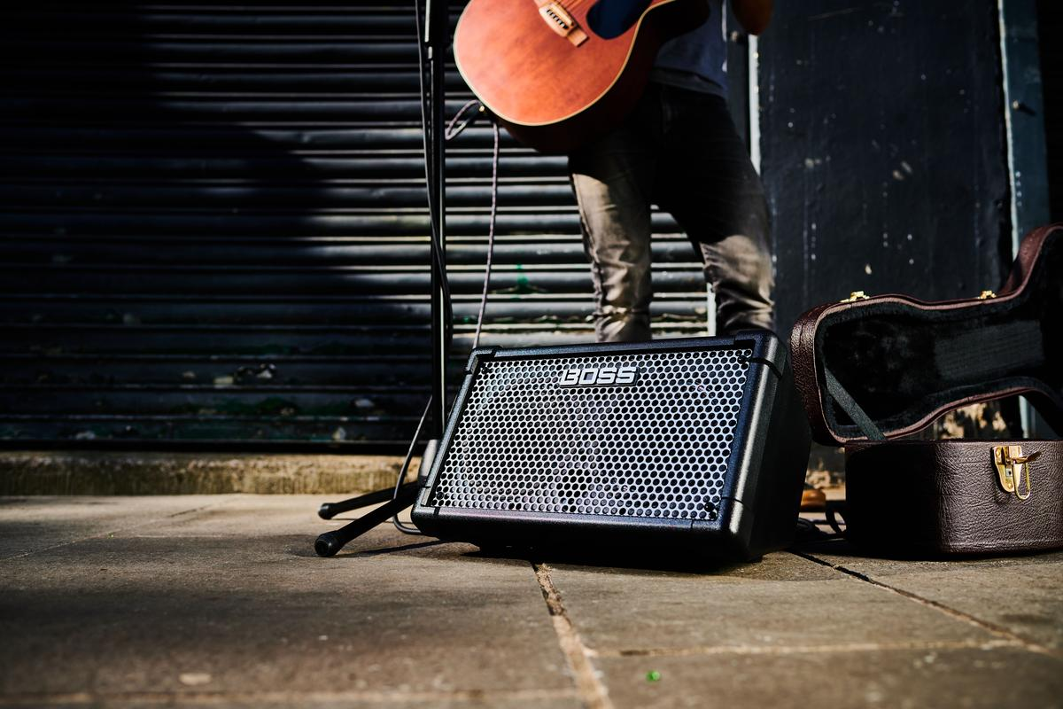The Cube Street II is the first portable amp from Roland to wear Boss branding