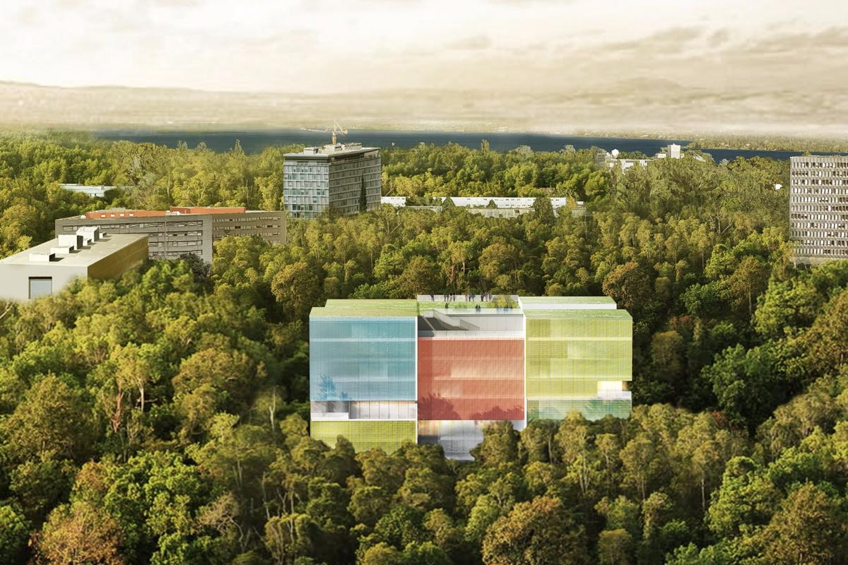 The new Geneva Operational Center for Doctors Without Borders will be wrapped in photovoltaic glass