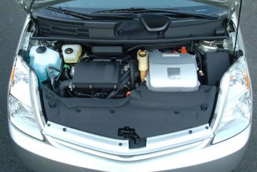 The hybrid Prius powerplants