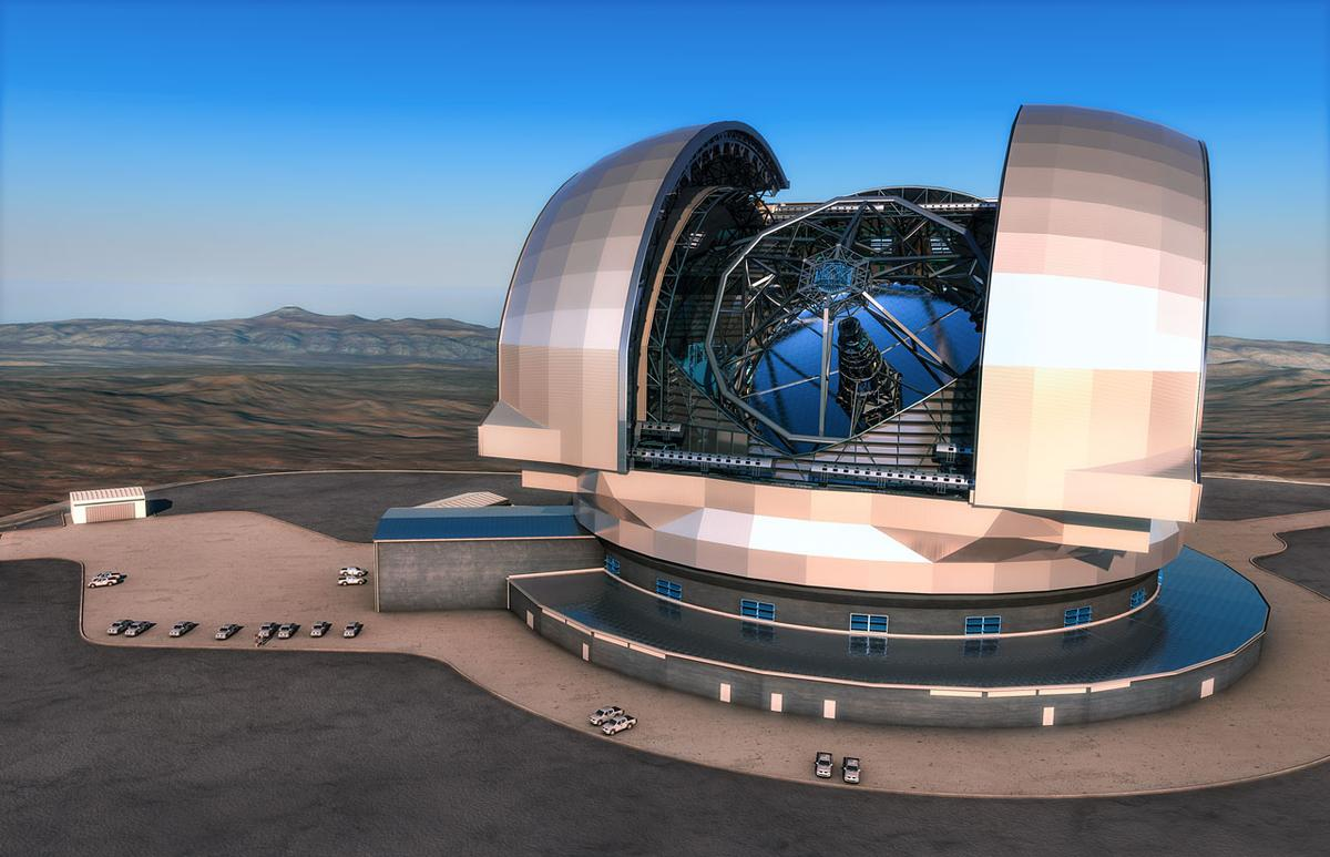 Construction has begun on the European Extremely Large Telescope (E-ELT), the world's largest optical and infrared telescope