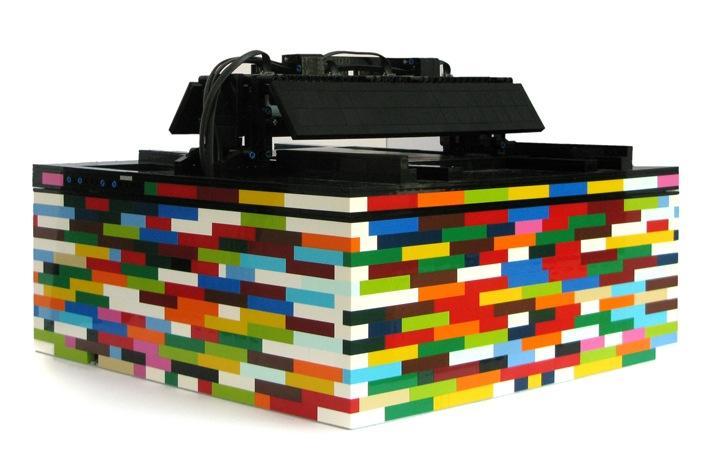 The SoundMachine LEGO drum machine sequencer