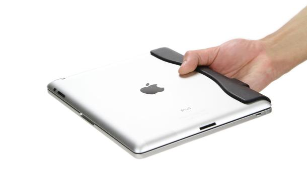 Brydge keyboard case closed and protecting Apple iPad