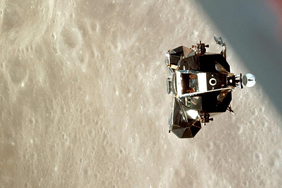 Apollo 10 was the final rehearsal for the Apollo 11 landing in 1969