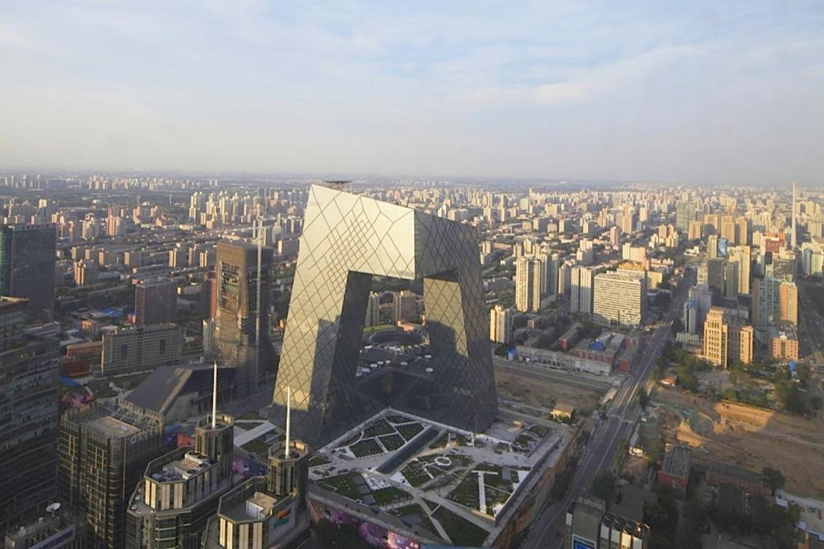 CCTV's Beijing headquarters (Photo: OMA / Iwan Baan)