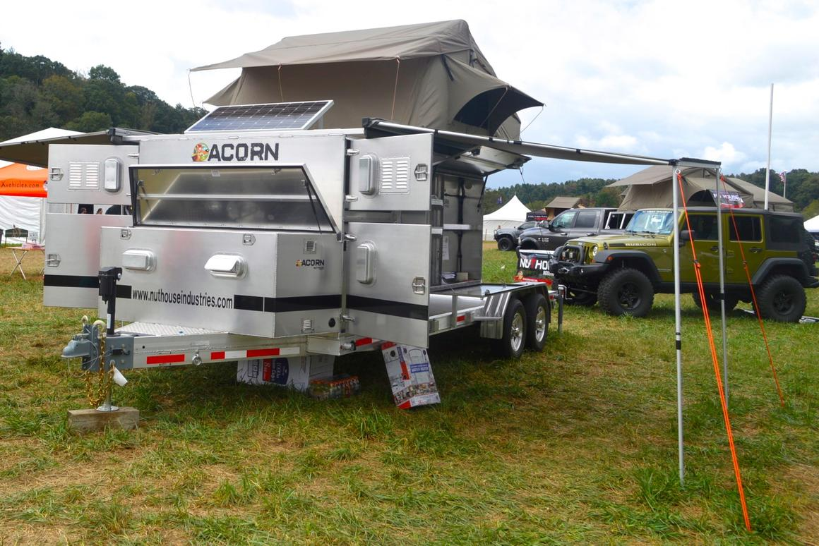 Nuthouse Acorn trailer at Overland Expo East 2016