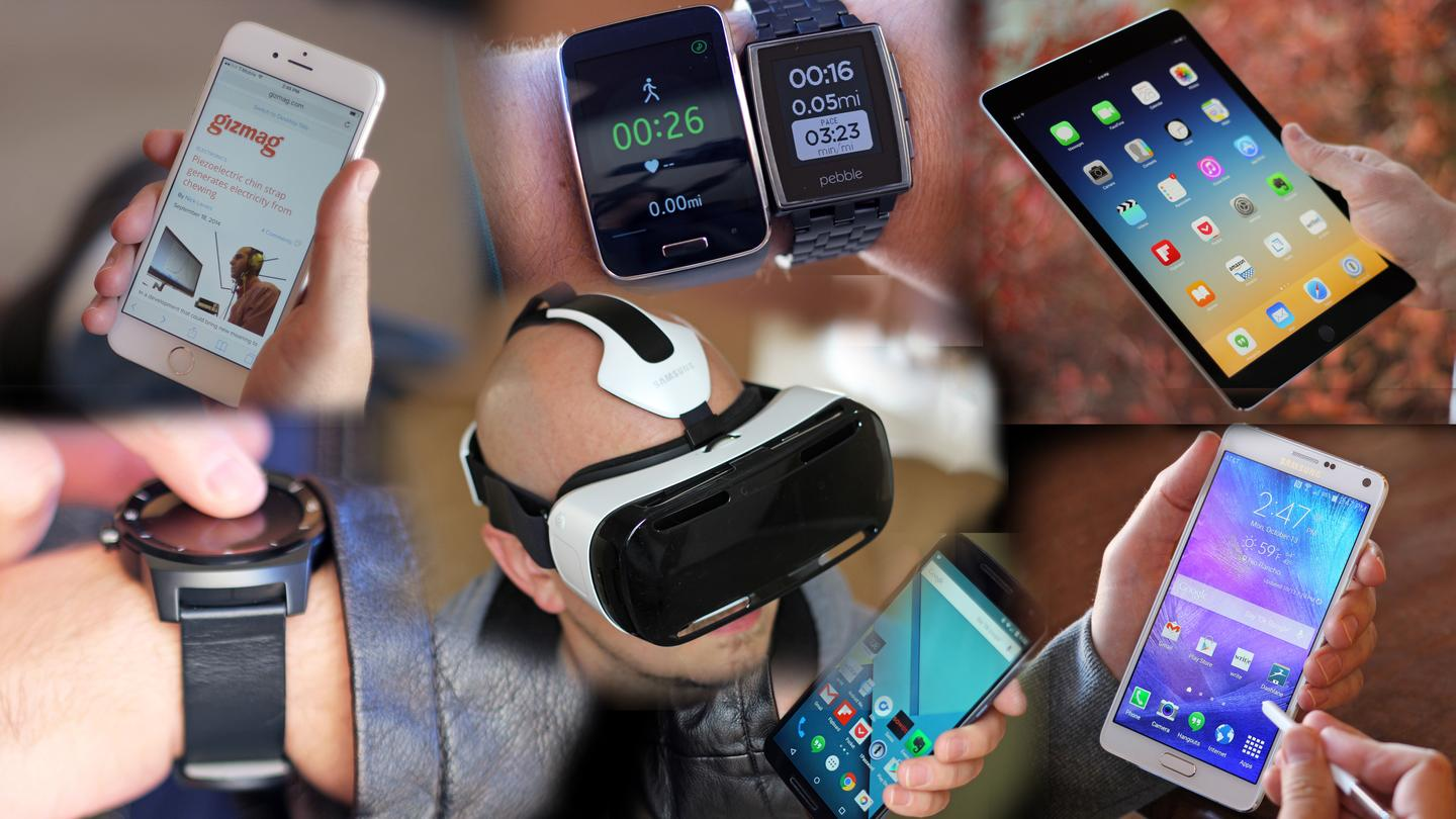 Gizmag looks back at the top mobile and wearable stories of 2014 (Photo: Will Shanklin/Gizmag.com)