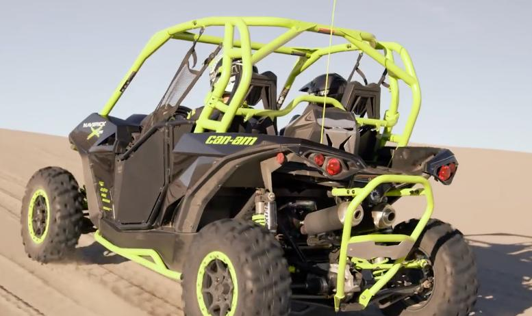 The all-new Can-Am Maverick X ds Turbo