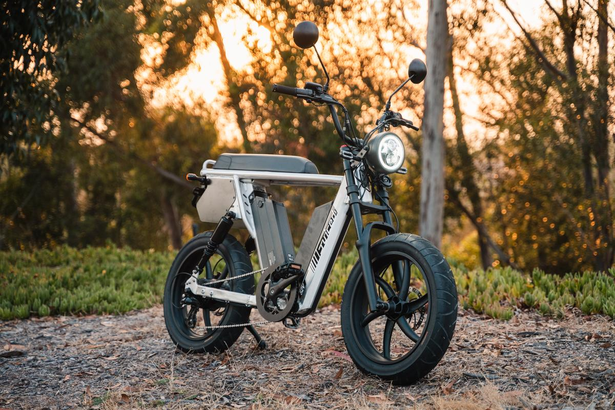 Two giant battery packs give the HyperScrambler 2 twice the range of most long-range ebikes