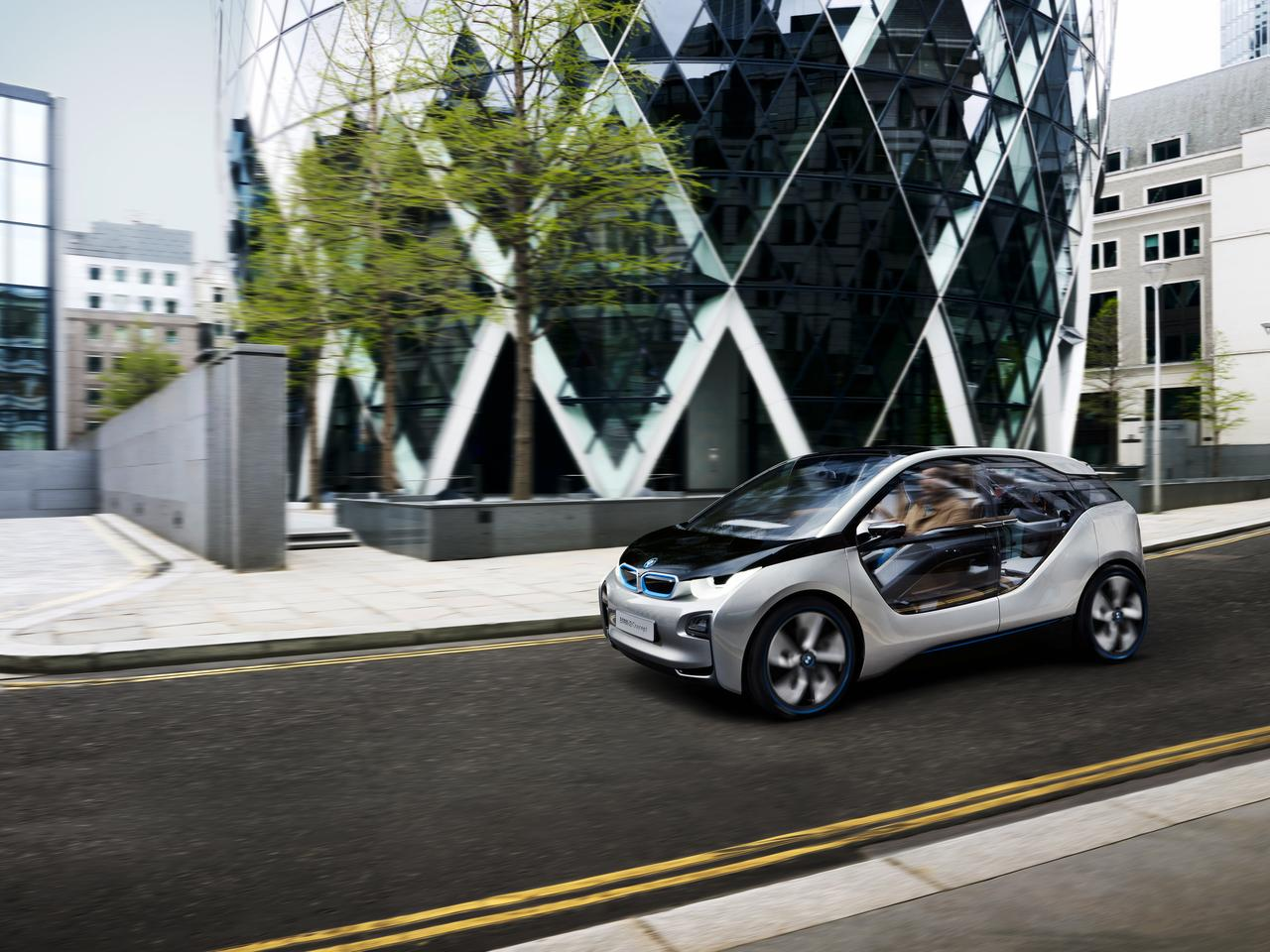 BMW unveiled the latest version of the i3 over the summer