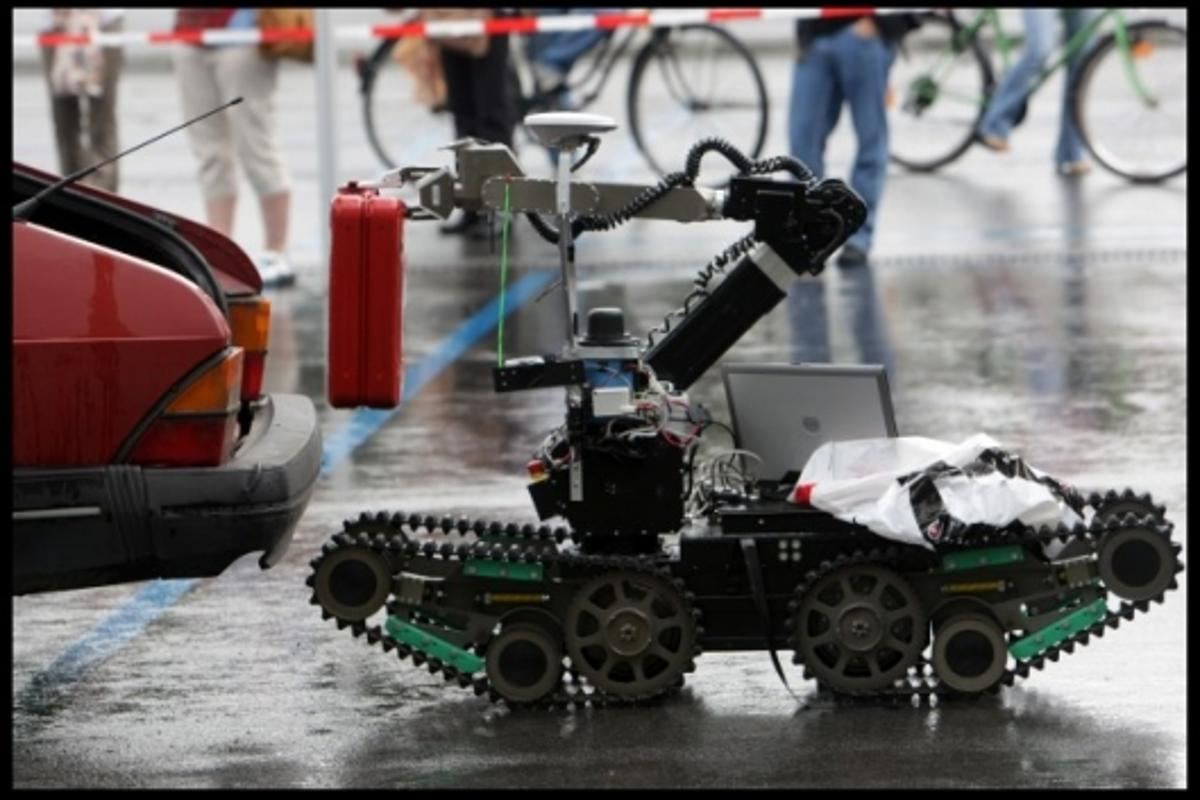 "Rescue Robot ""Telemax"" at Robocup 2009"