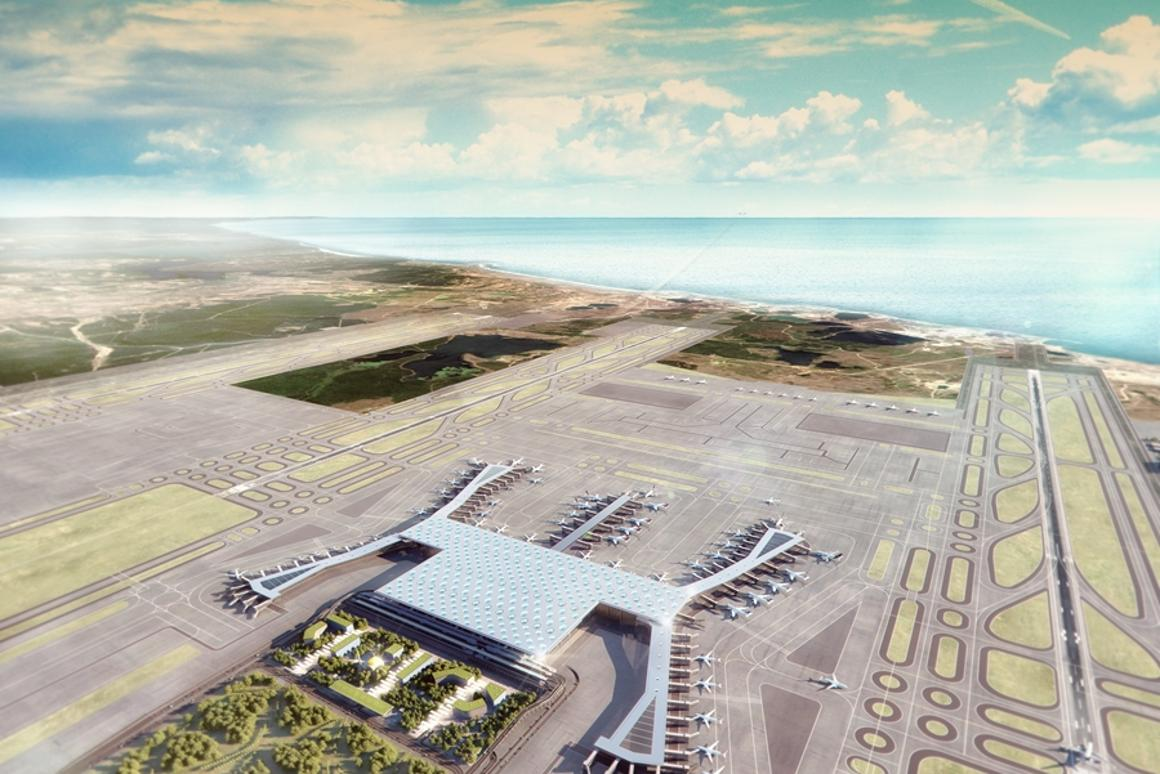 Istanbul New Airport will be one of the busiest airports in the world when it is complete