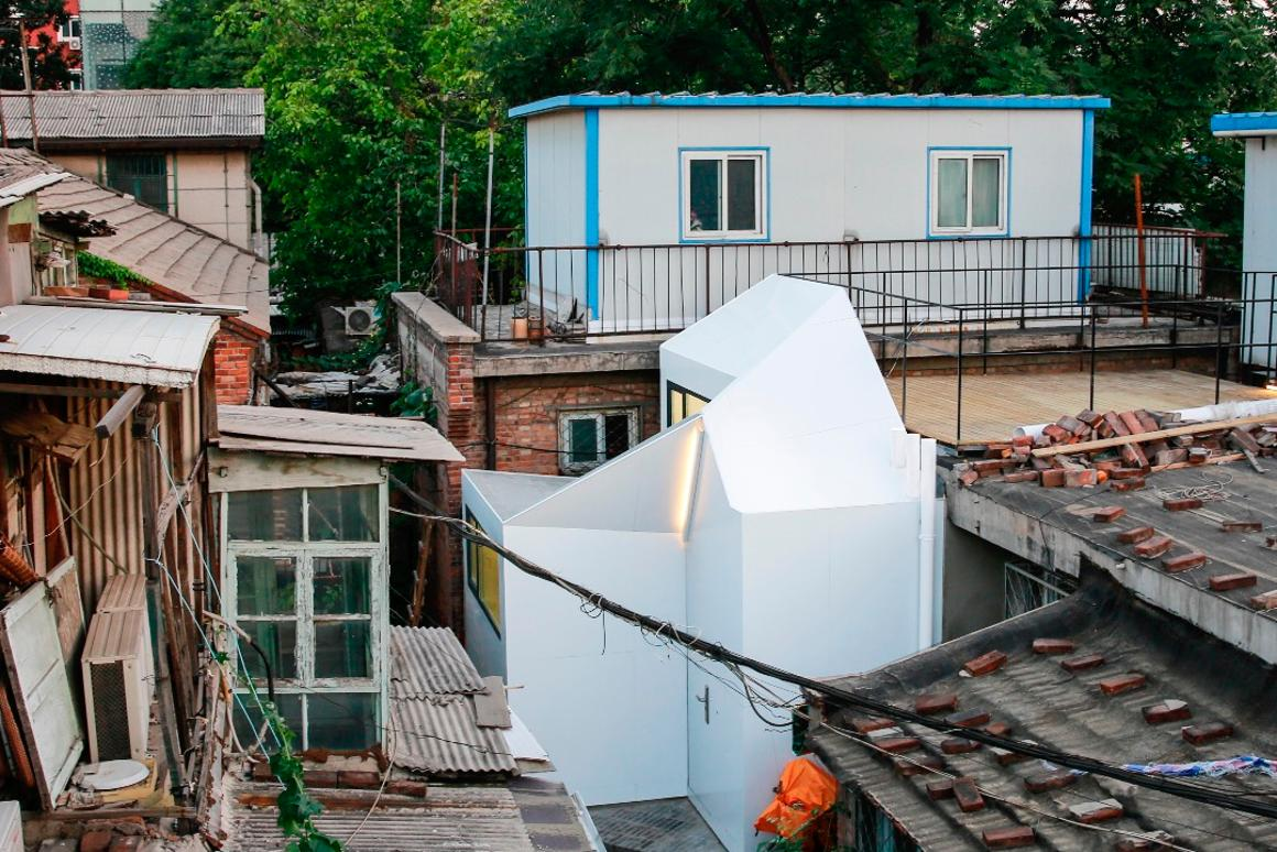 Mrs. Fan's Plugin House costthe equivalent of around US$10,000, which PAO says is30 times cheaper than a typical Beijing apartment