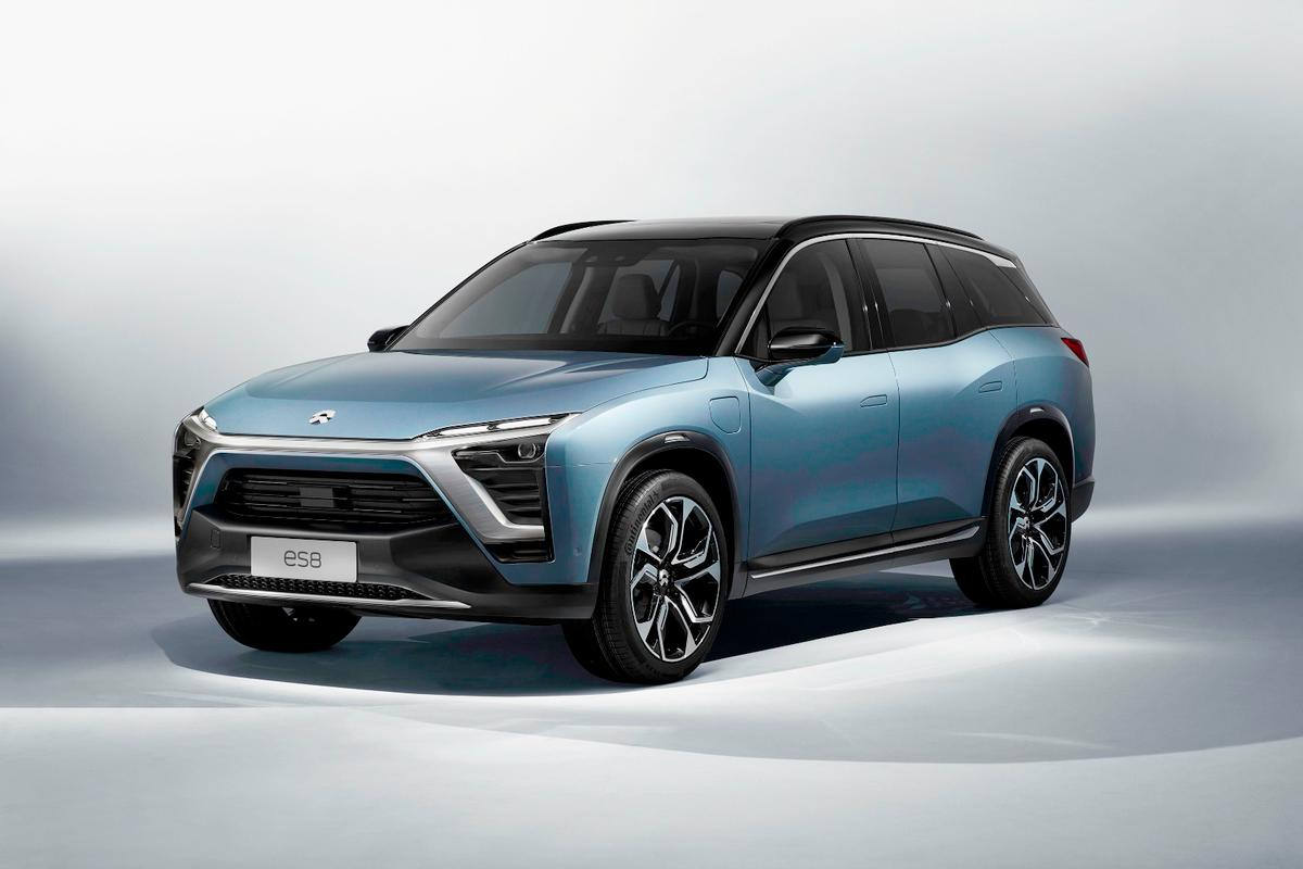 The NIOES8 will enter production late this year for the Chinese market