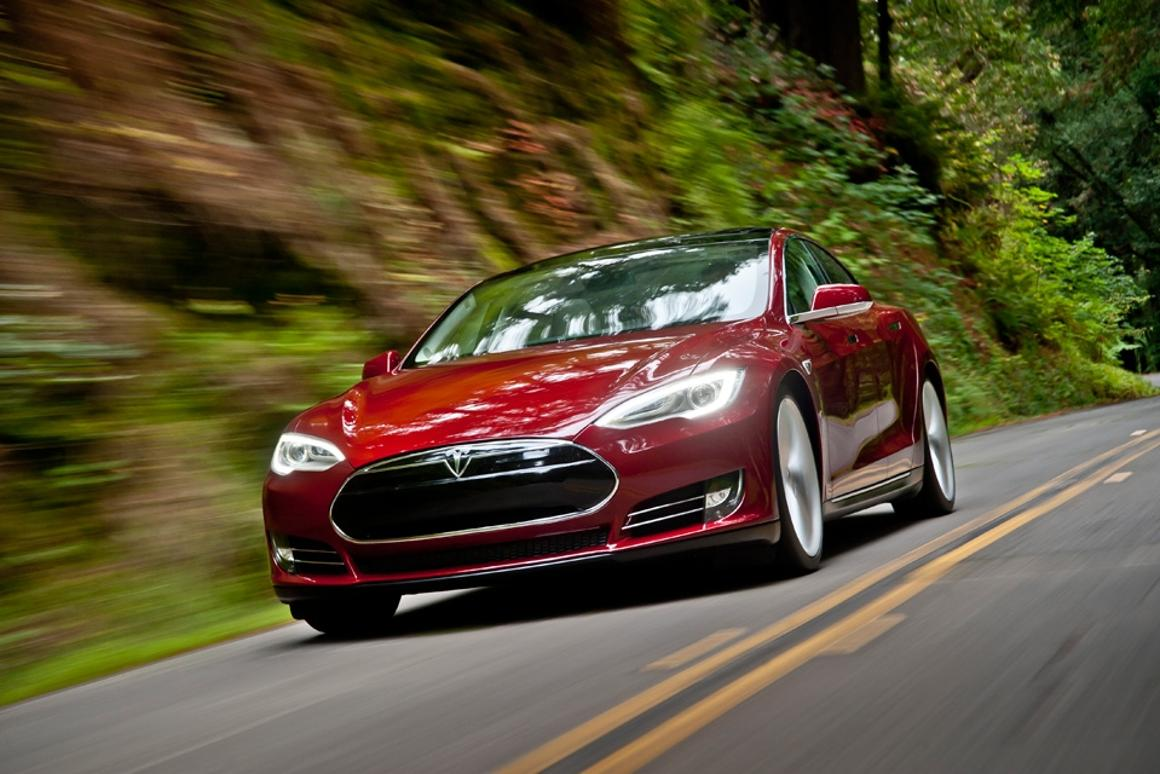 Who said electric cars had to be boring, slow or limited in range? photo: Tesla Motors