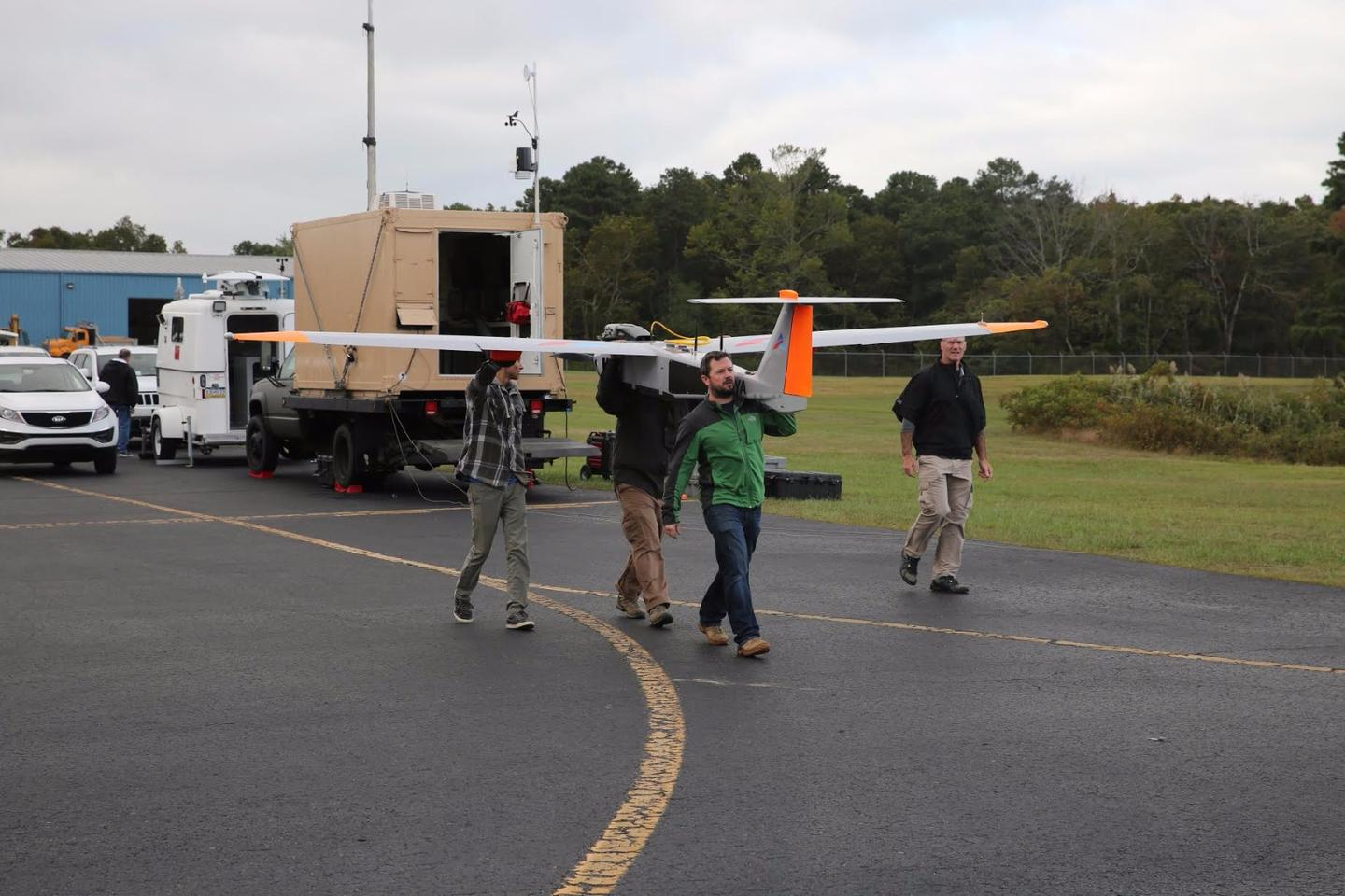 Verizon recently teamed up with company American Aerospace Technologies to see how using drones as gliding cell towers could have an impact in disaster relief scenarios