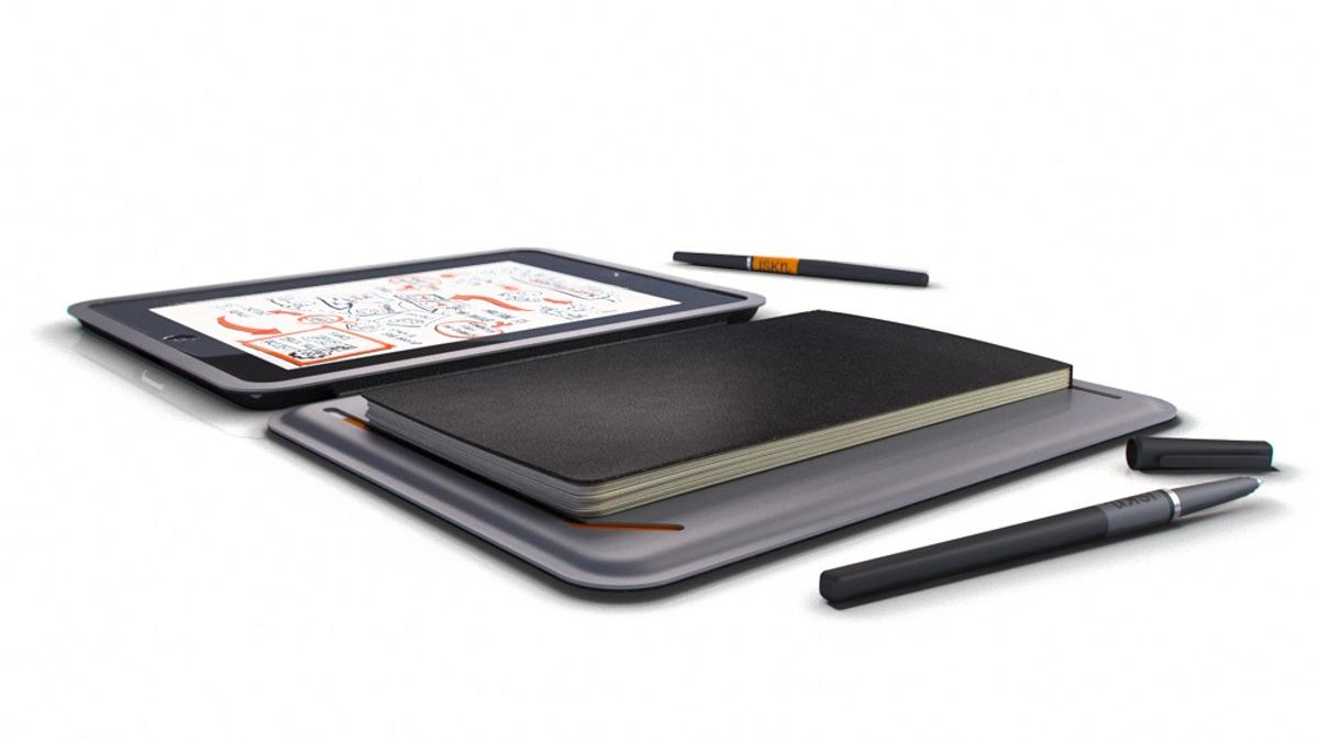 The iSketchnote lets you create a digital copy of your physical scribblings