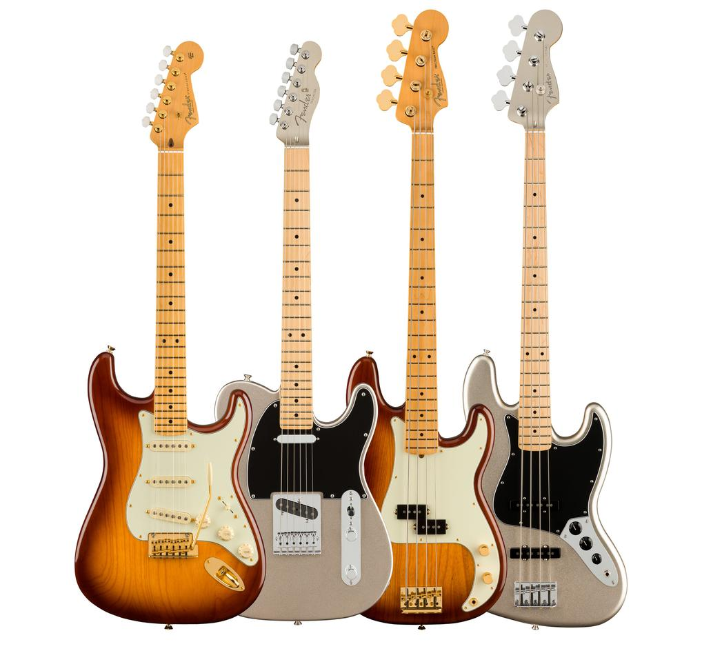 Fender celebrates its 75th year with special edition guitars and basses