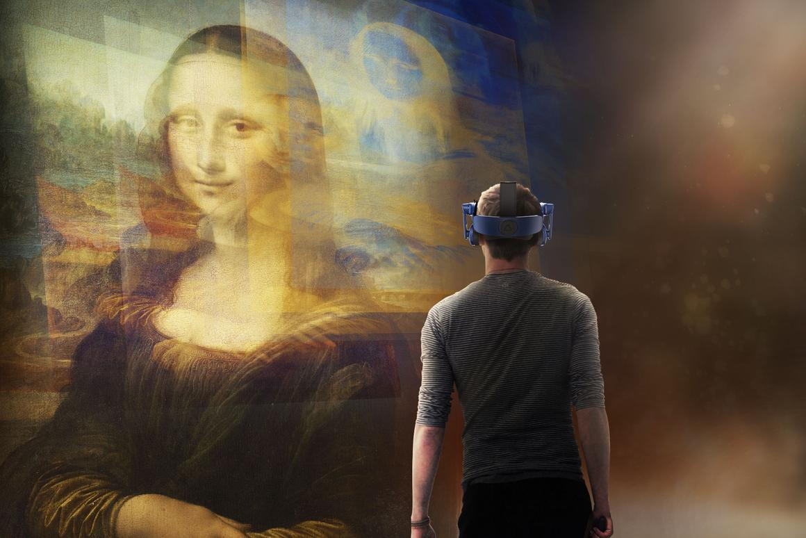 Mona Lisa: Beyond the Glass runs as part of the Louvre's Leonardo da Vinci exhibition