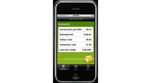 Tendril mobile energy management system