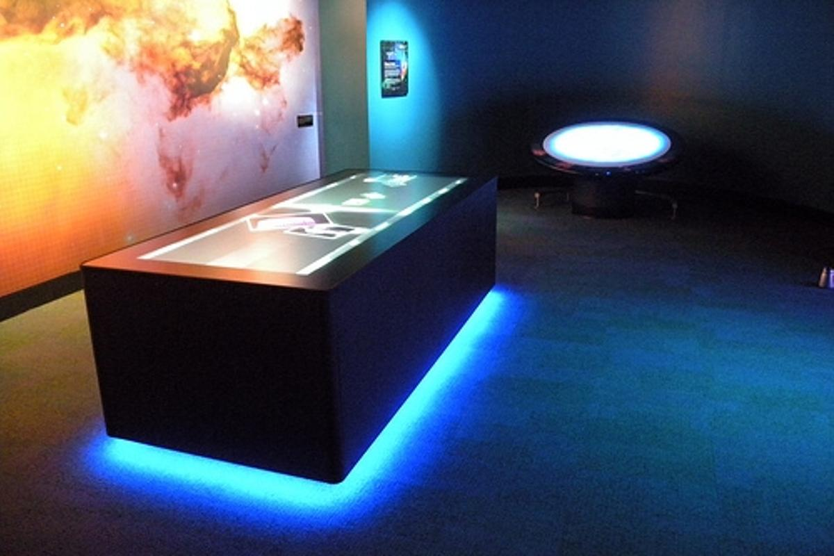 Ideum's multi-touch table was developed for Adventure Science Center in Nashville