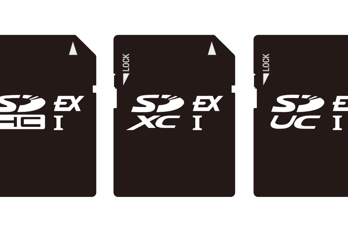 SD Express will initially be found in SDUC, SDXC and SDHC memory cards
