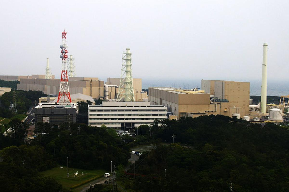 Concrete walls at the Hamaoka Nuclear Power Plant were found to have become stronger over their lifetime