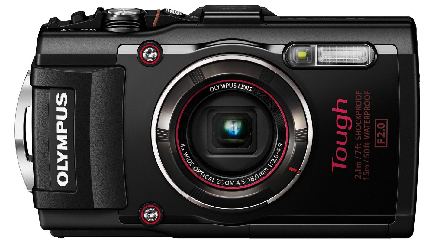 The Olympus Stylus Tough TG-4 will be available in red or black from May, and will sell for $380