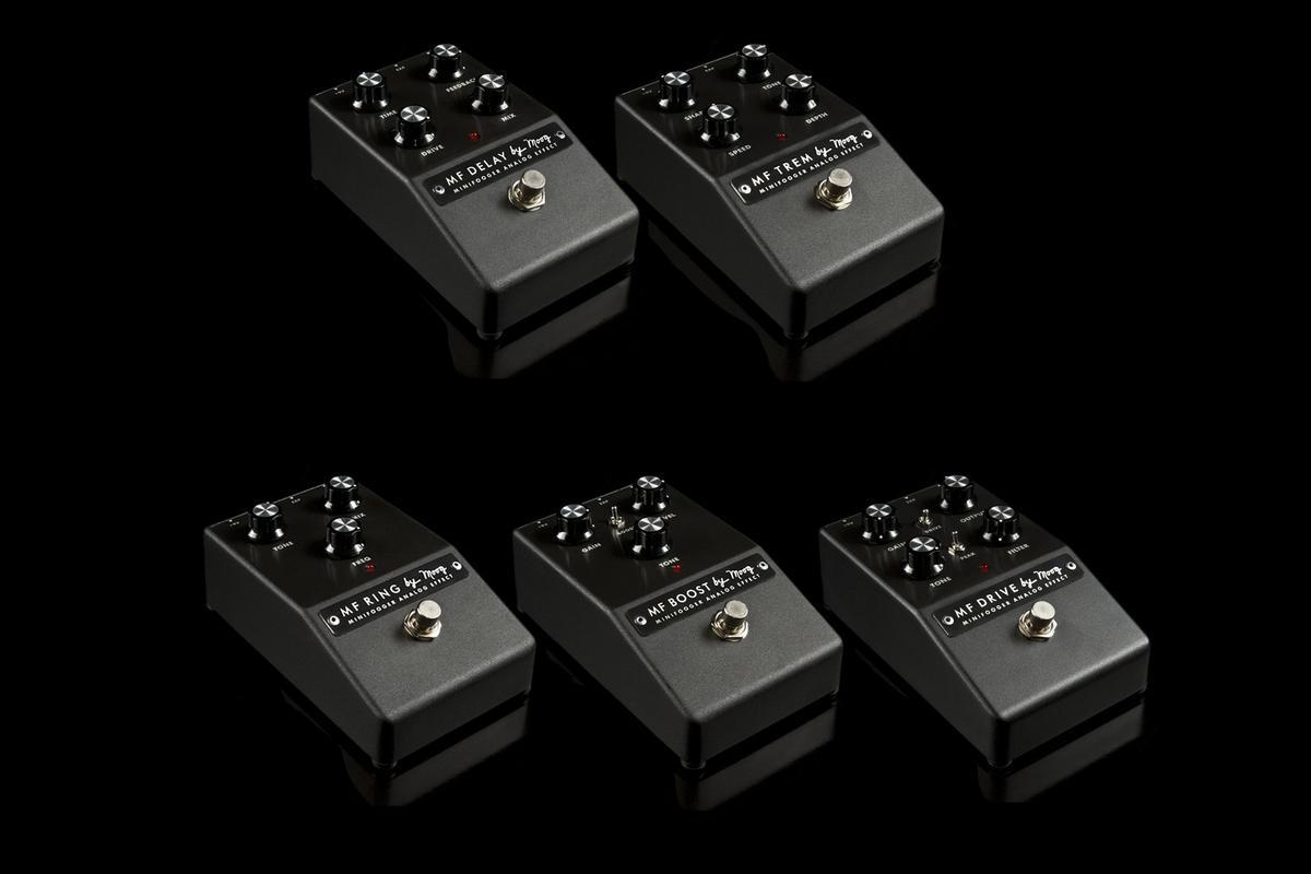 The new Moog Minifooger analog stomp family
