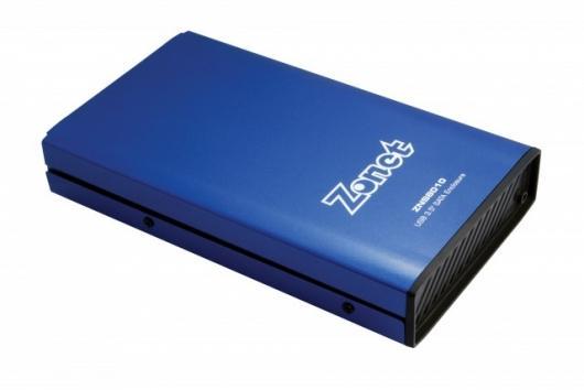 """ZNS8010 3.5"""" USB 2.0 SATA Enclosure"""