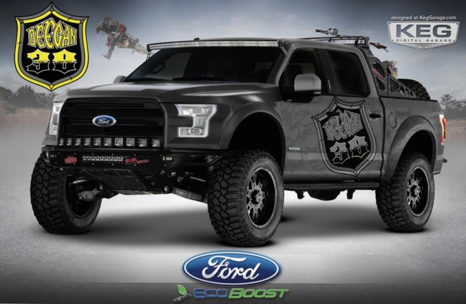 Ford Deegan 38 custom truck for SEMA 2014
