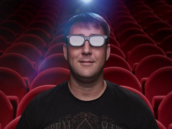 De-3D glasses convert 3D movies into 2D, for viewers who find the 3D viewing experience uncomfortable (Image: ThinkGeek)