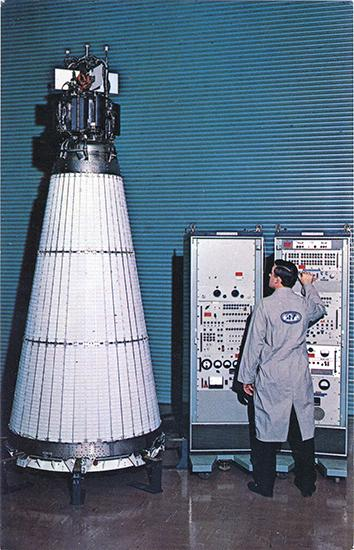 SNAP-10 was the first nuclear reactor to fly in space in 1965