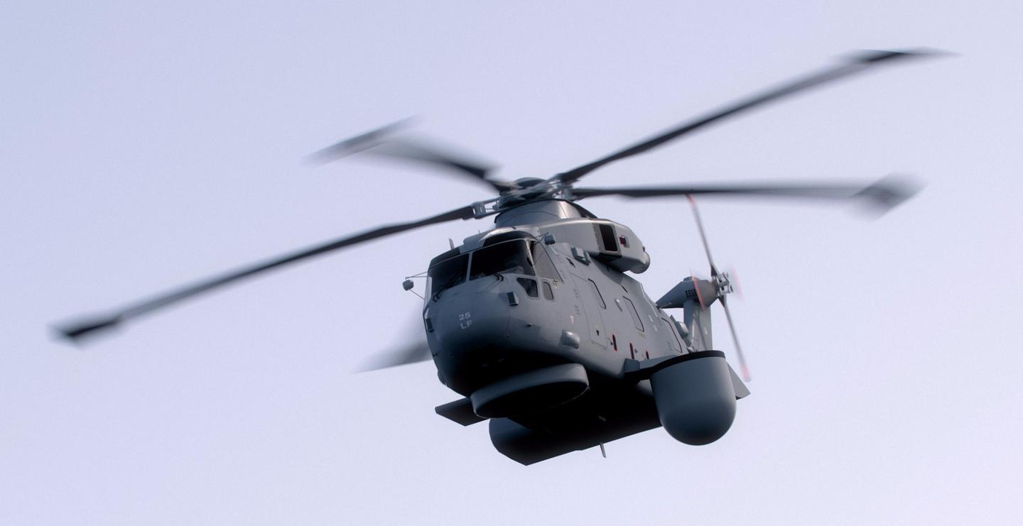 Crowsnest will provide airborne early warning capability to Britain's carrier groups