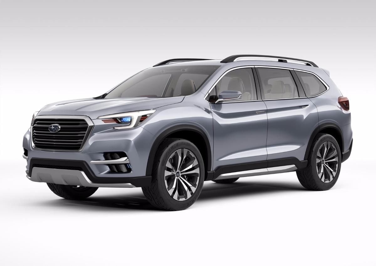 The new SubaruAscent Concept, launched in New York