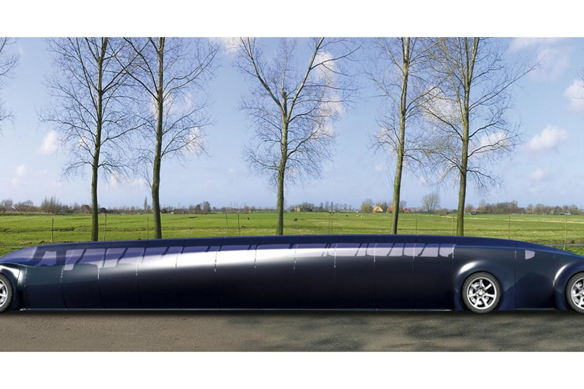 The Superbus will transport 23 passengers in transport where and when needed