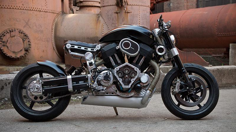 Confederate Motorcycles X132 Hellcat