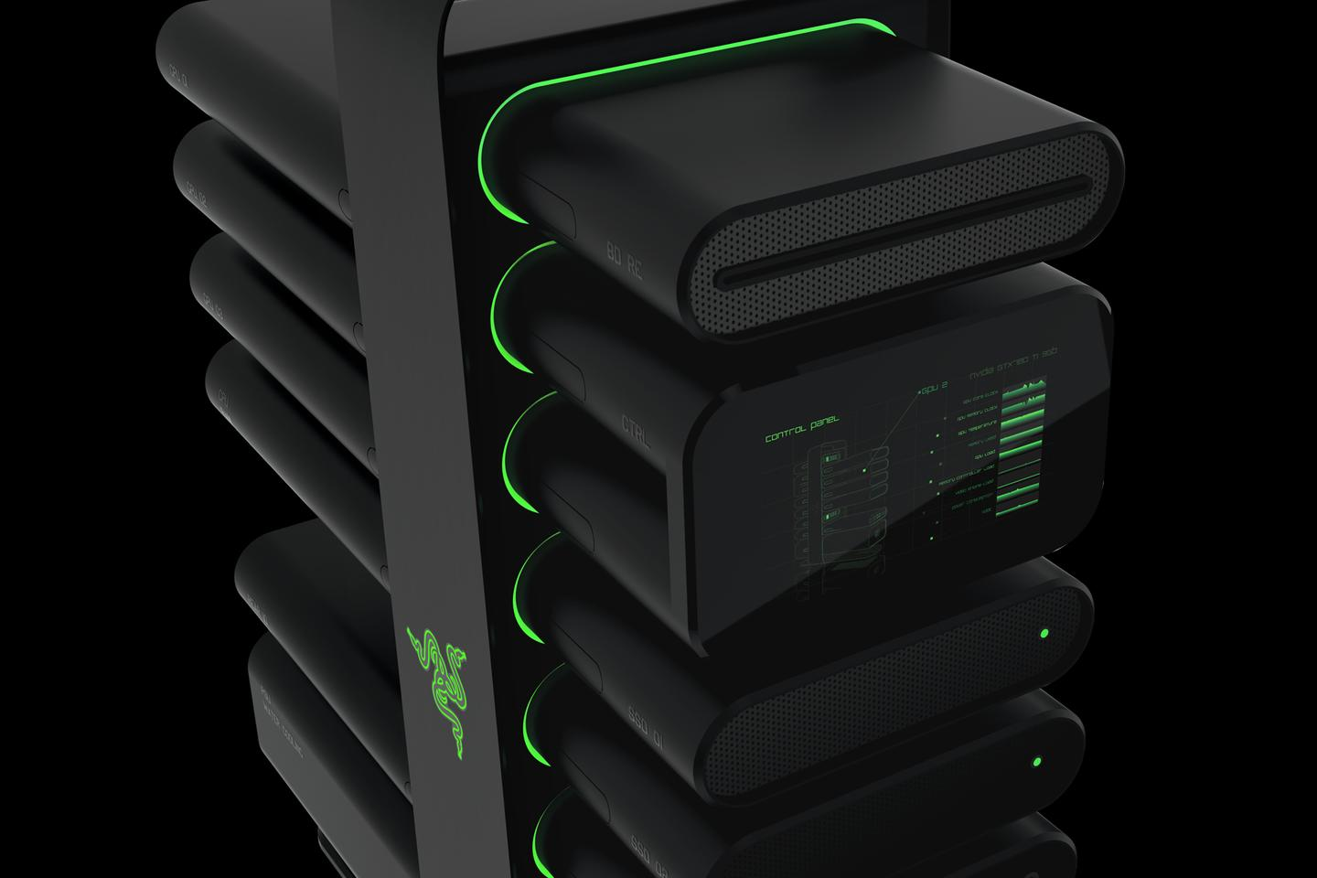 Razer's Project Christine
