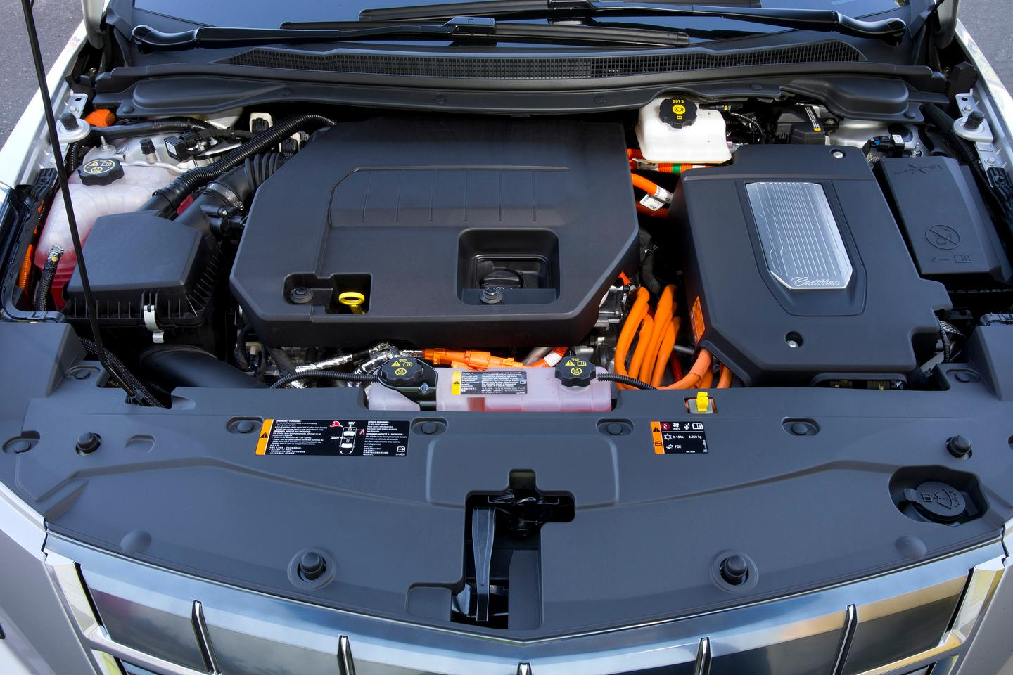 Quiet and clean, too: under the hood of the Cadillac ELR