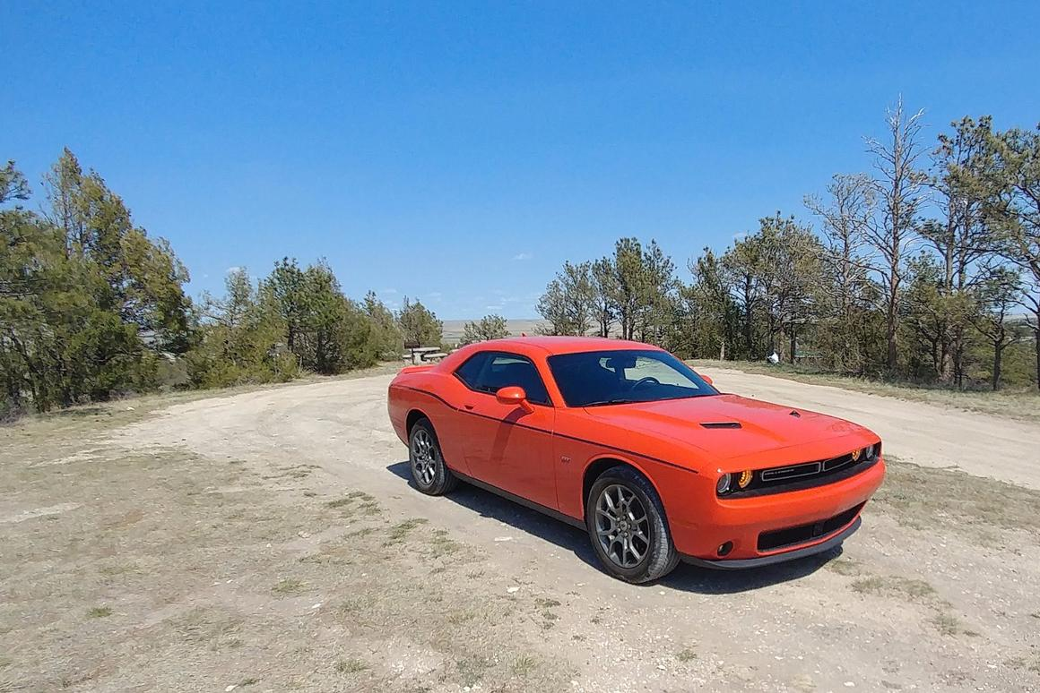 The Challenger GT is Dodge's all-wheel drive muscle coupe