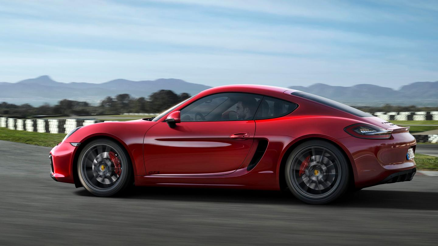 Porsche has premiered the Boxster GTS and Cayman GTS at this year's Auto China motor show