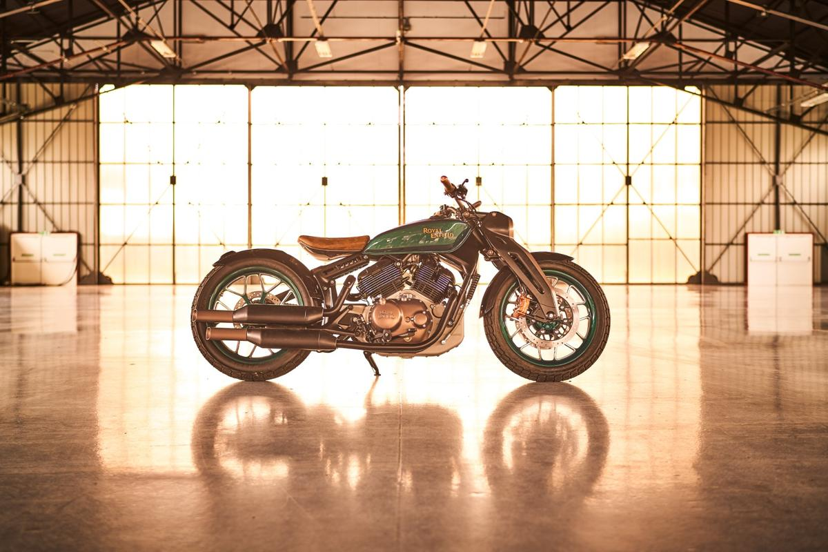 Royal Enfield's Concept KX sports a hell of a profile and is the best looking Enfield we've ever seen