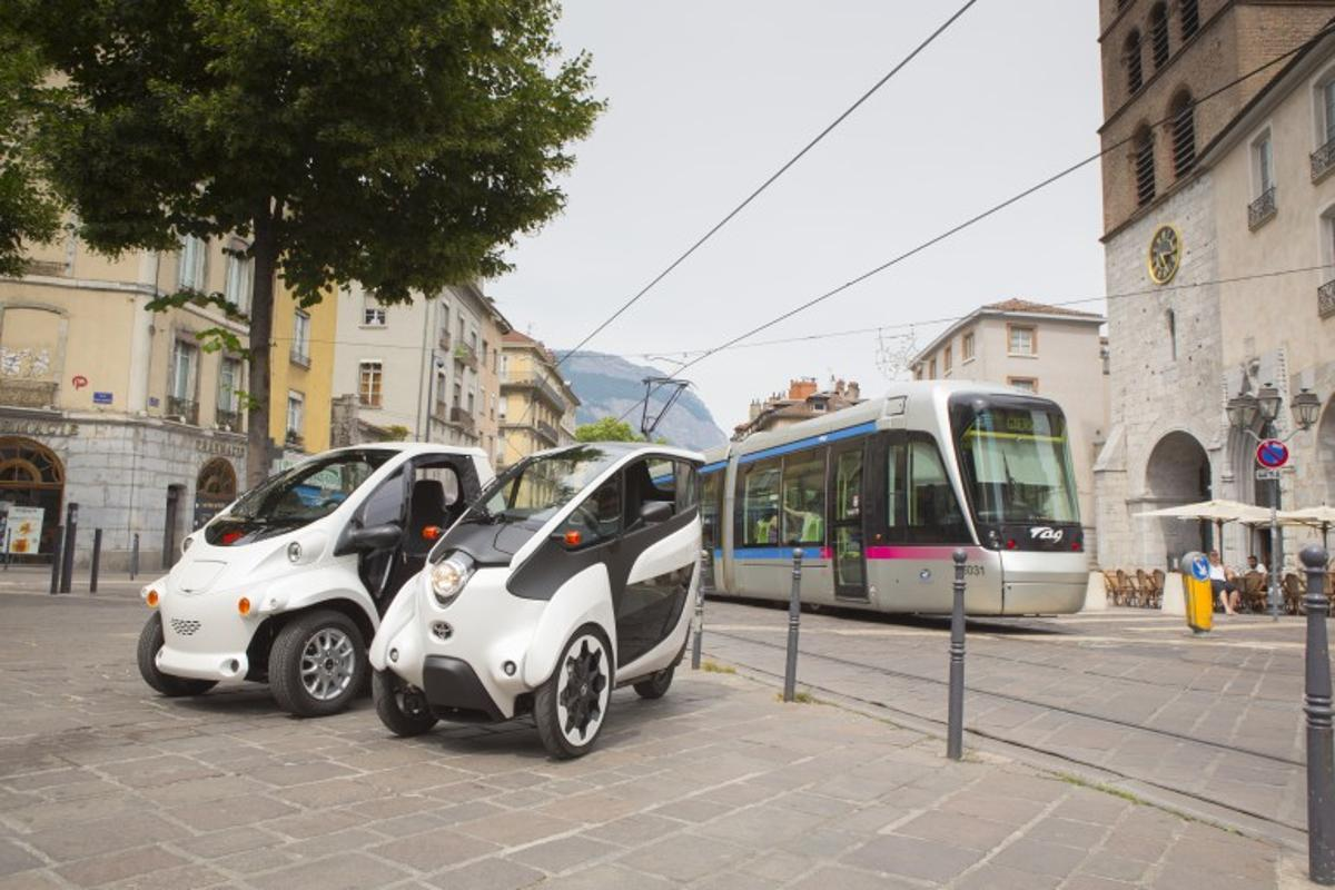 Grenoble will be the first city outside of Japan in which Toyota has installed the Ha:mo system