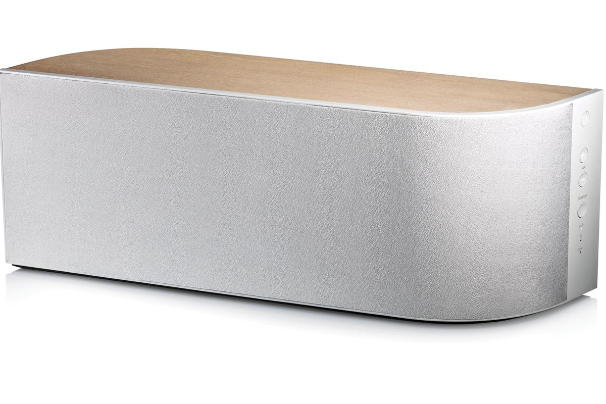 The minimalist elegance of the Wren V5US wireless speaker