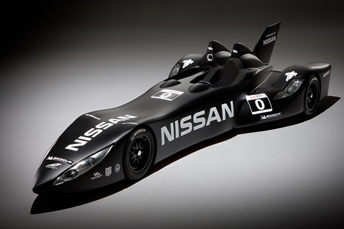 The Nissan Deltawing experimental race car